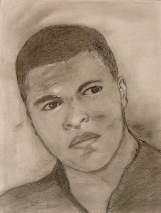 Muhammad Ali by Gina